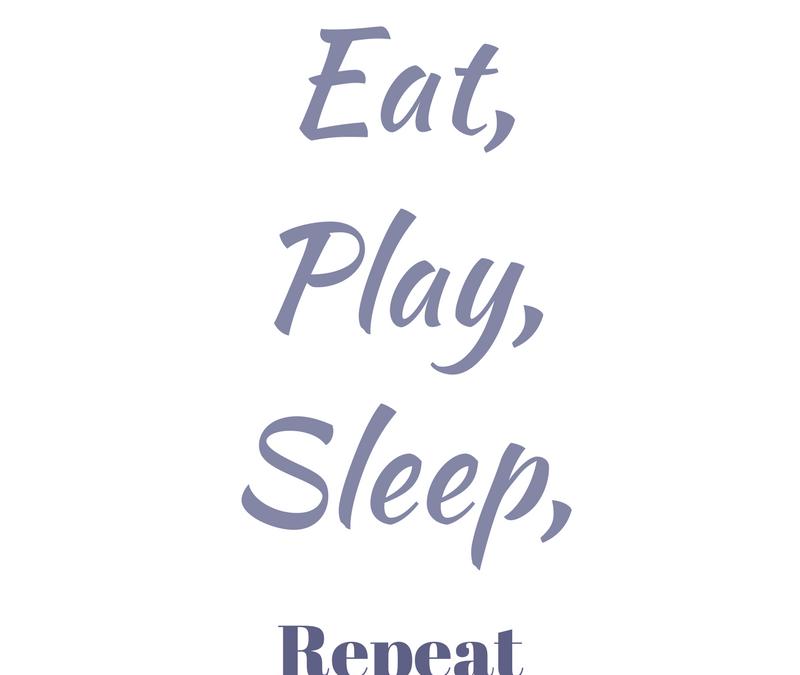"""Eat, Play, Sleep, Repeat"" for healthy infant sleep"