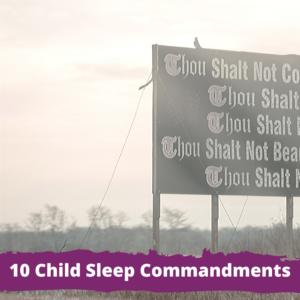 10 Child Sleep Commandments for World Sleep Day